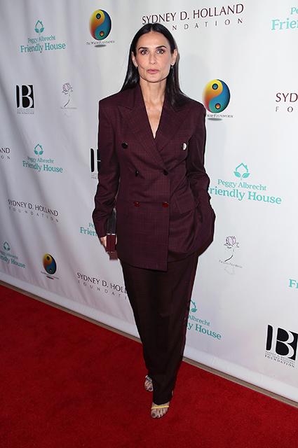 Дочери Деми Мур поддержали актрису на благотворительном вечере в Лос-Анджелесе