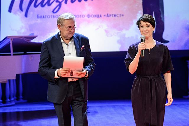 Юрий Стоянов и Чулпан Хаматова