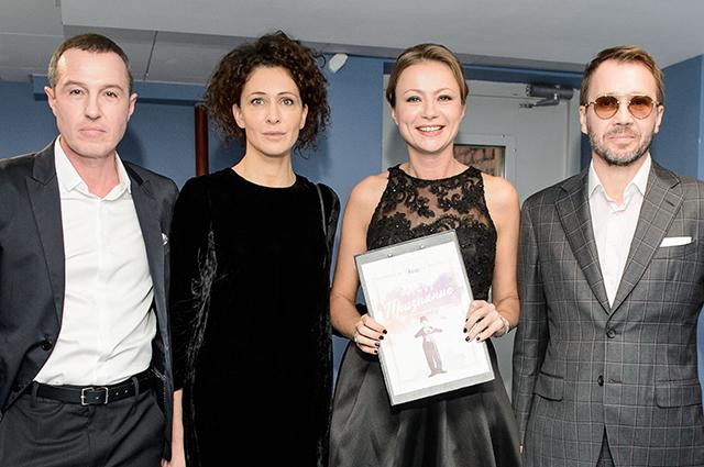 Ксения Раппопорт, Мария Миронова, Чулпан Хаматова, Диана Вишнева и другие на концерте фонда