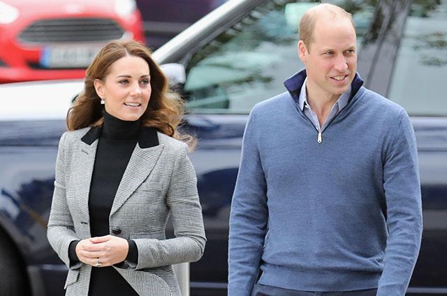 Кейт Миддлтон и принц Уильям посетили спортивный центр в графстве Эссекс