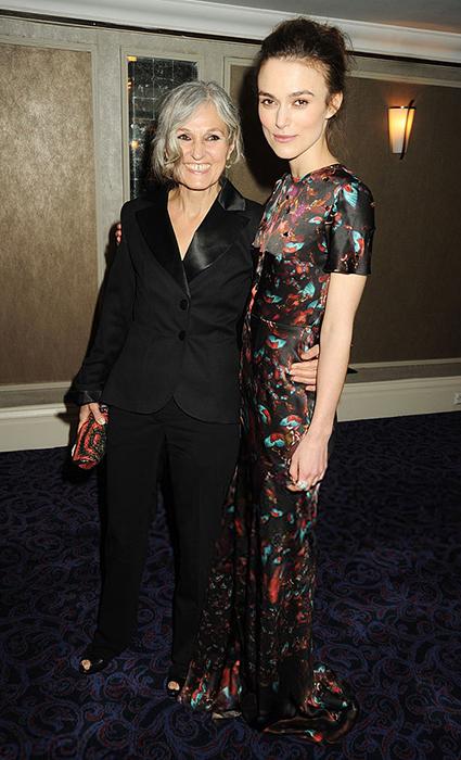 Кира Найтли с мамой Шерман МакДональд