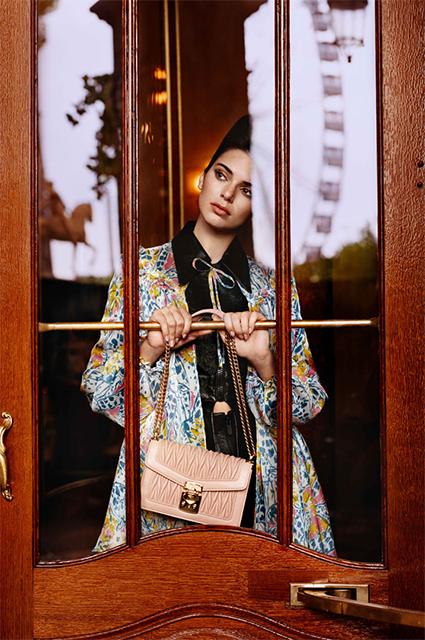 Кендалл Дженнер снялась в новой кампании Miu Miu