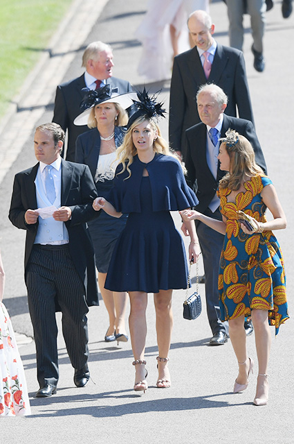 Челси Дэви на свадьбе принца Гарри и Меган Маркл