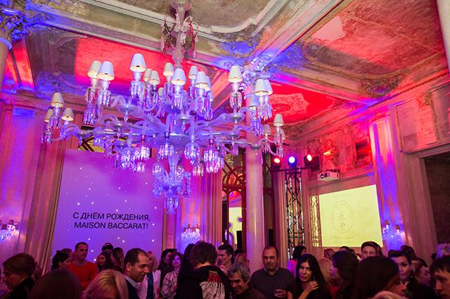 Юбилей Maison Baccarat в России