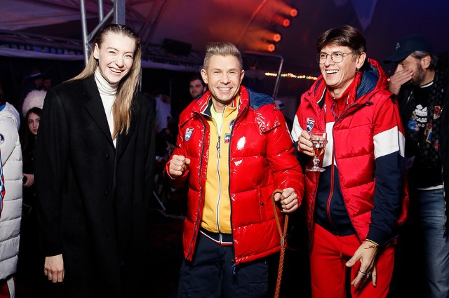 Мария Миногарова, Митя Фомин и Влад Лисовец