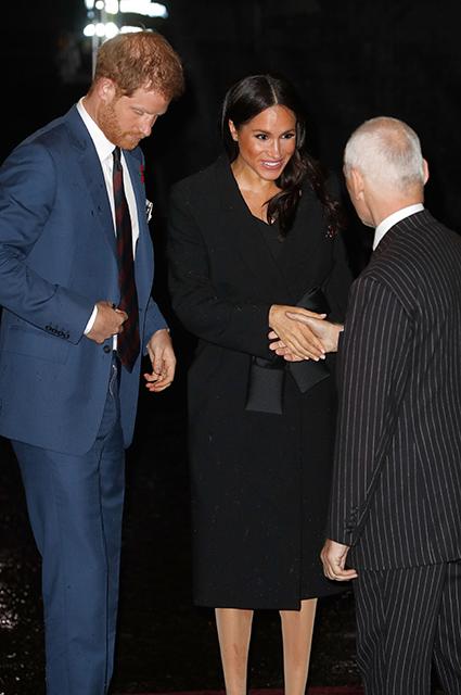 Кейт Миддлтон, принц Уильям, Меган Маркл и принц Гарри посетили Фестиваль памяти в Лондоне