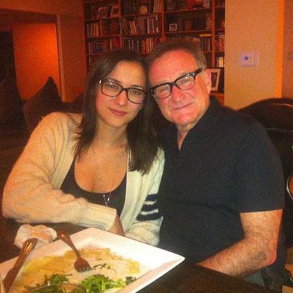 Зельда Уильямс с отцом