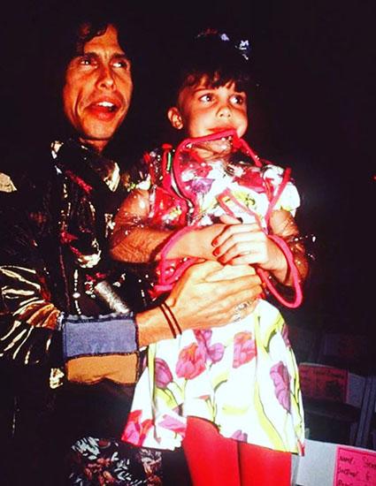 Челси Тайлер с отцом