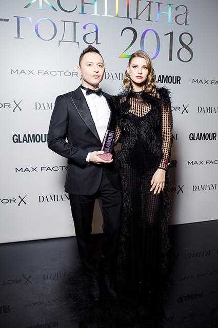 Рома Зверь с супругой Мариной Королевой