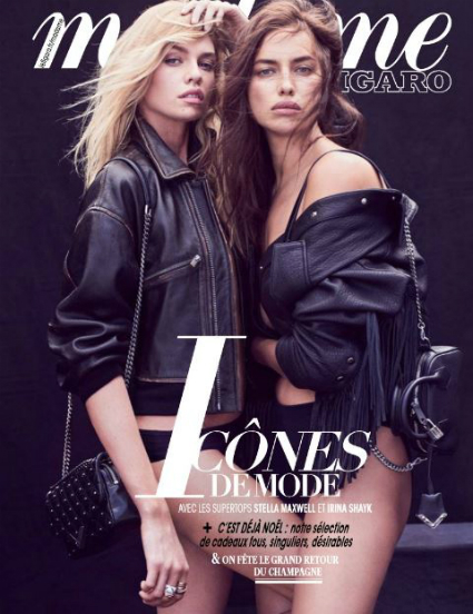 Ирина Шейк и Стелла Максвелл стали героинями cover story французского глянца: фото