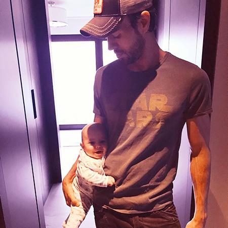 Энрике с сыном Николасом