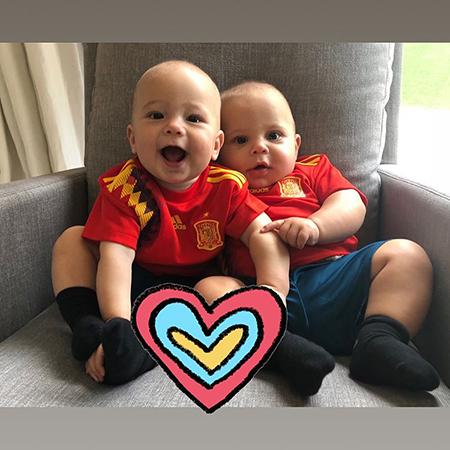 Дети Энрике Иглесиаса и Анны Курниковой