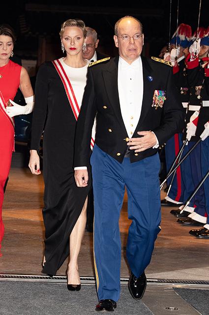 Джереми Микс и Хлоя Грин отметили День Монако вместе с князем Альбером II и княгиней Шарлен