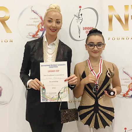Наталья Ротенберг с дочерью