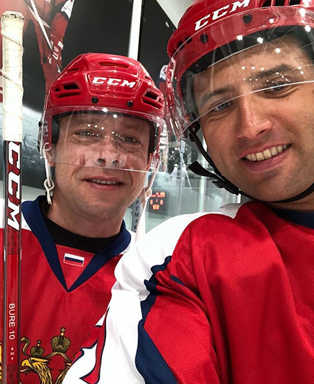 Павел Буре и Роман Ротенберг