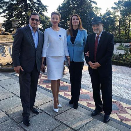 Тигран Арзаканцян и Наталья Ротенберг, Татьяна Ксенофонтова, Мохий Кандур