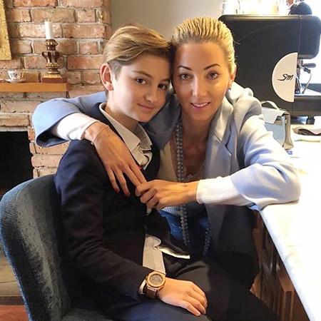 Наталья Ротенберг с сыном