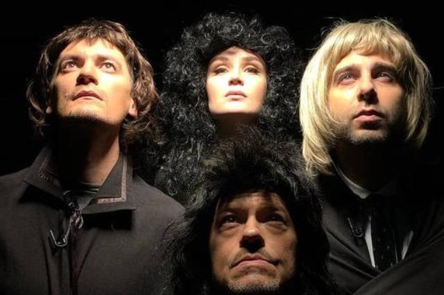 Гагарина, Бондарчук, Ургант и Гудков представили пародию на группу Queen