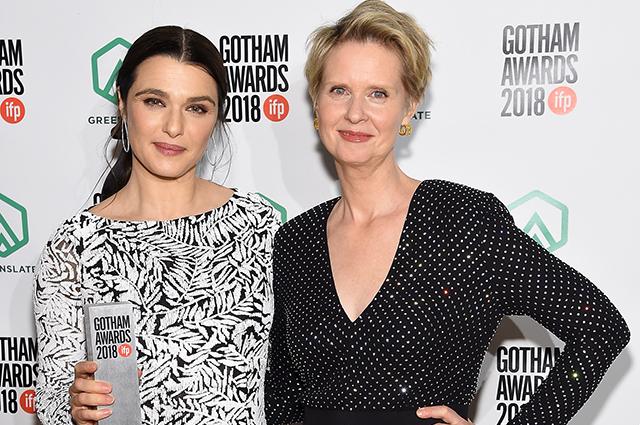 Рэйчел Вайс, Синтия Никсон, Итан Хоук и другие на церемонии вручения премий Gotham Awards 2018