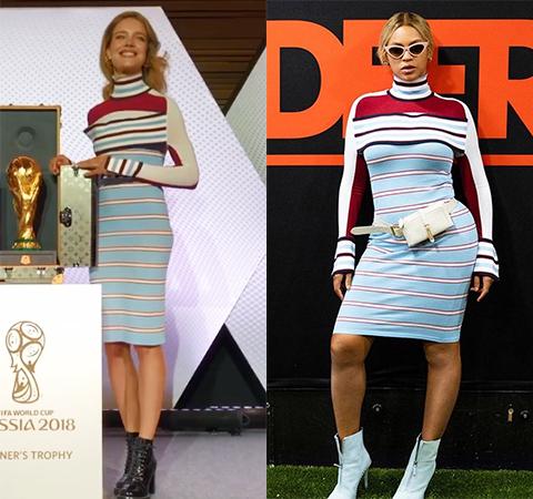 Битва платьев: Наталья Водянова против Бейонсе
