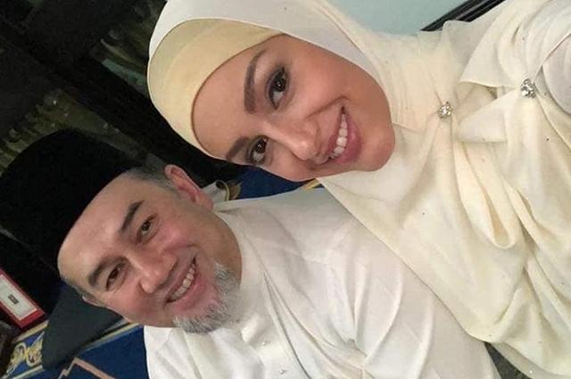 Мухаммад V и Оксана Воеводина