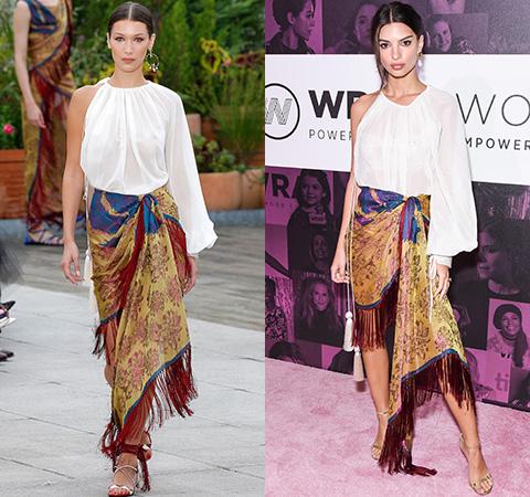 Модная битва: Белла Хадид против Эмили Ратажковски