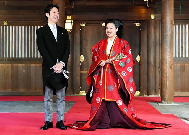 Кей Мория и принцесса Аяко
