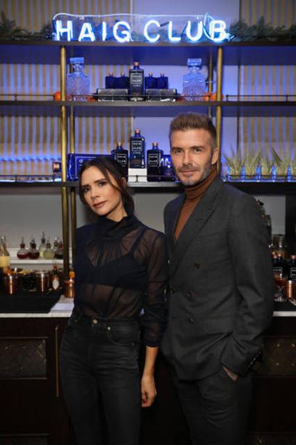 Виктория Бекхэм поддержала мужа Дэвида на торжественном вечере в Лондоне