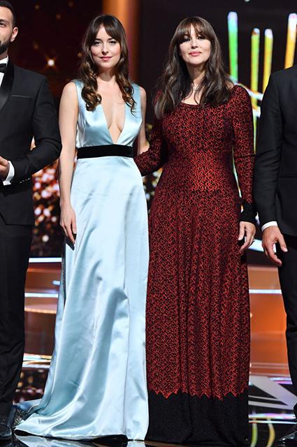 Моника Беллуччи и Дакота Джонсон произвели фурор на кинофестивале в Марракеше