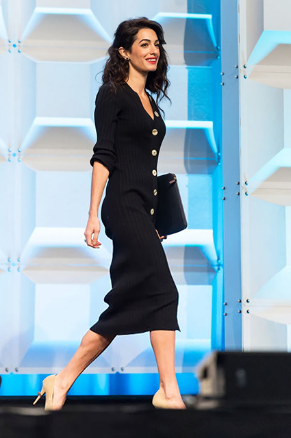 Стало известно, почему Амаль Клуни не присутствовала на свадьбе принцессы Евгении