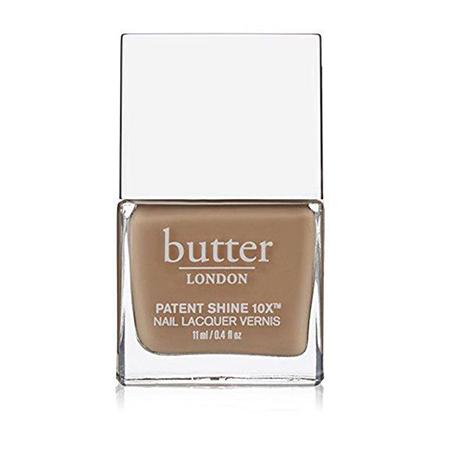 Лак для ногтей Heritage Collection Patent Shine 10X Nail Lacquer в оттенке Yummy Mummy, Butter LONDON