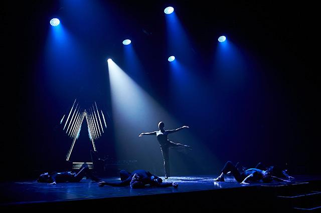 Ляйсан Утяшева в танцевальном спектакле Bolero