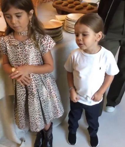 Ким Кардашьян и Канье Уэст отметили день рождения своего сына Сейнта