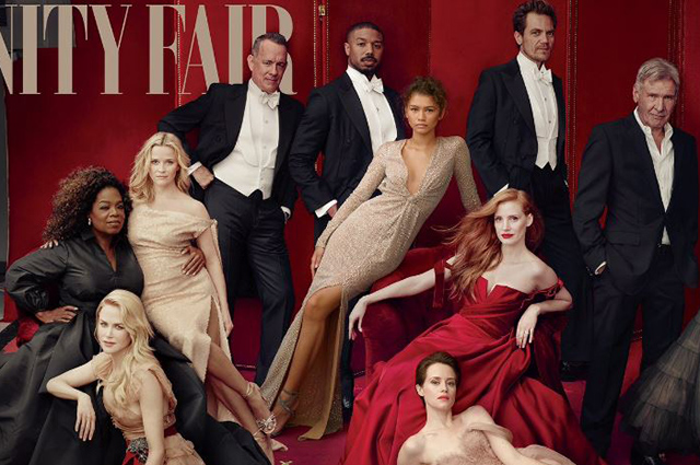 Обложка журнала Vanity Fair
