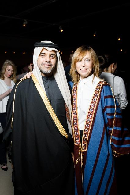 Посол Государства Катар в РФ, Его Превосходительство Фахад Мохамедович Аль-Атыйя и Алена Долецкая