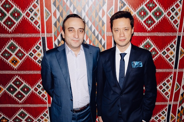 Гор Нахапетян и Евгений Ковалишин