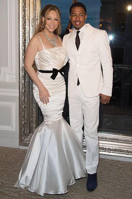 Мэрайя Кэри и Ник Кэннон, 2012 год