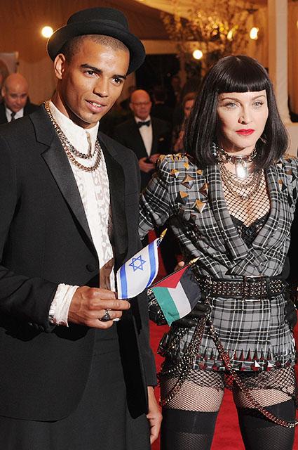 Брахим Зейбат и Мадонна, 2013 год