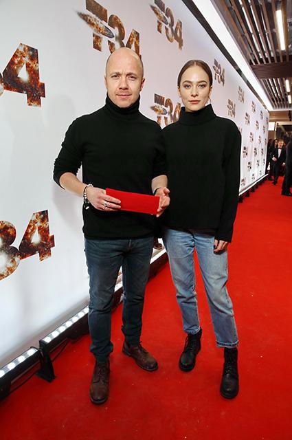 Евгений Стычкин и Аглая Тарасова