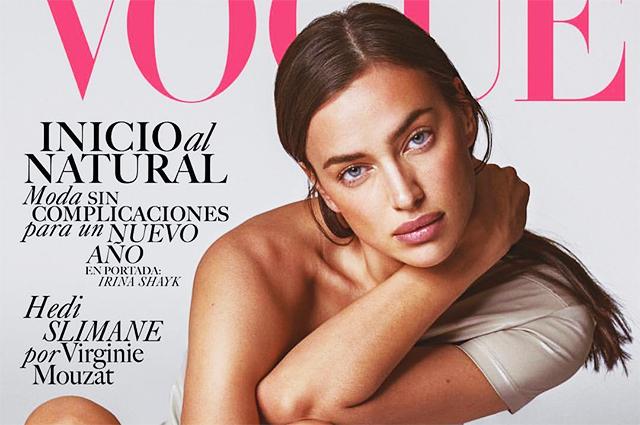 Полуобнаженная Ирина Шейк снялась для мексиканского Vogue