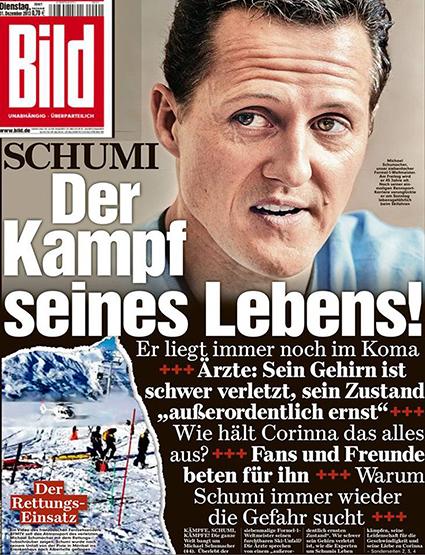 Обложка газеты Bild
