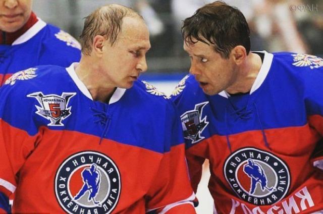 Владимир Путин и Павел Буре
