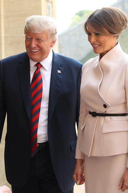 Инсайдеры рассказали о необычных проявлениях супружеской любви Дональда и Мелании Трамп