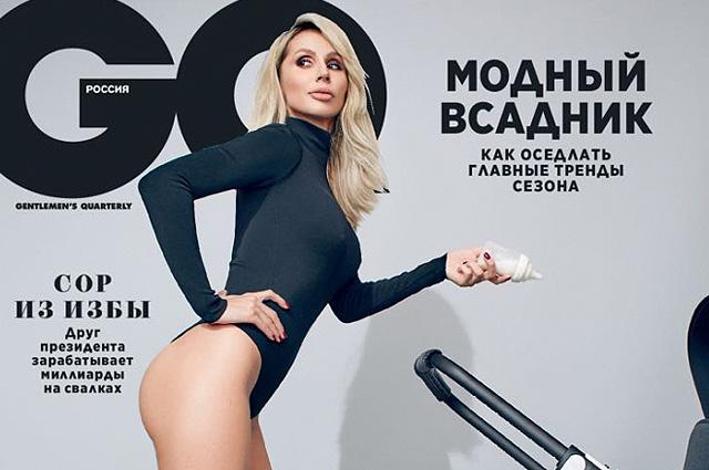 Светлана Лобода сфотографировалась с двухмесячной дочерью для обложки GQ