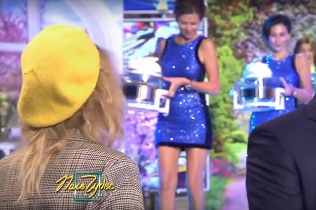 Монеточка стала участницей «Поля чудес» и выиграла мультиварку: видео