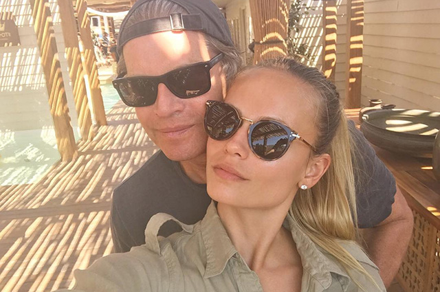 Наташа Поли с мужем