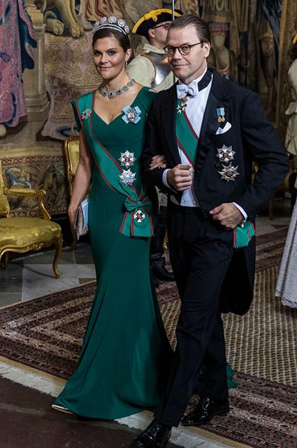 Кронпринцесса Виктория с принцем Даниэлем