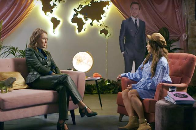 Ксения Собчак рассказала в интервью о второй беременности, сыне Платоне и отношениях с мужем