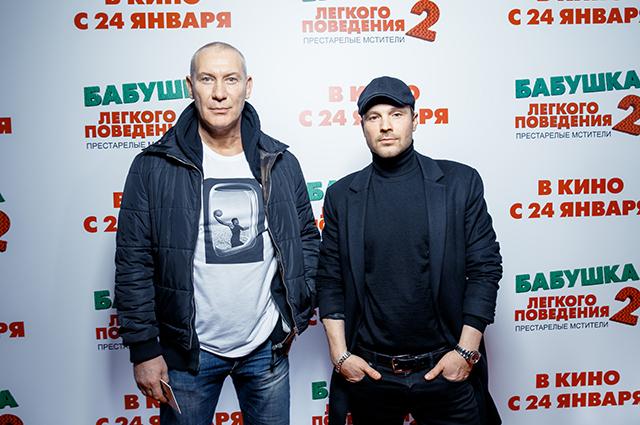 Игорь Жижикин и Алексей Чадов