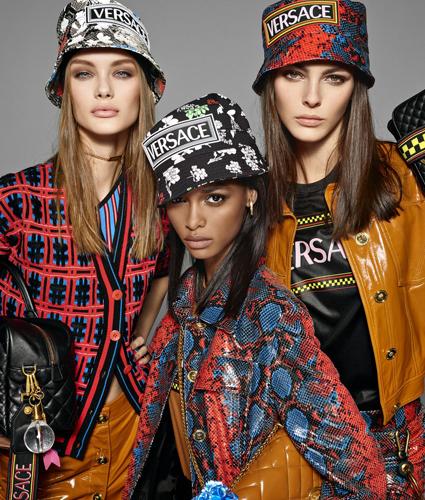 Рекламная кампания Versace весна-лето 2019